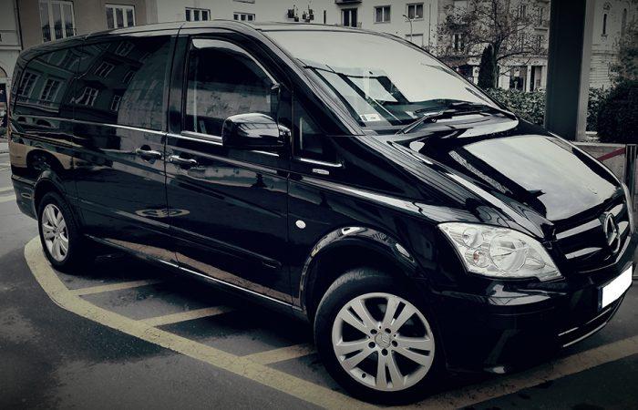 Private Mercedes Minibus Airport pick-up